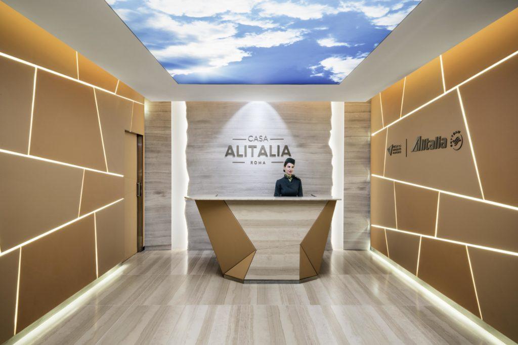 Alitalia lounge