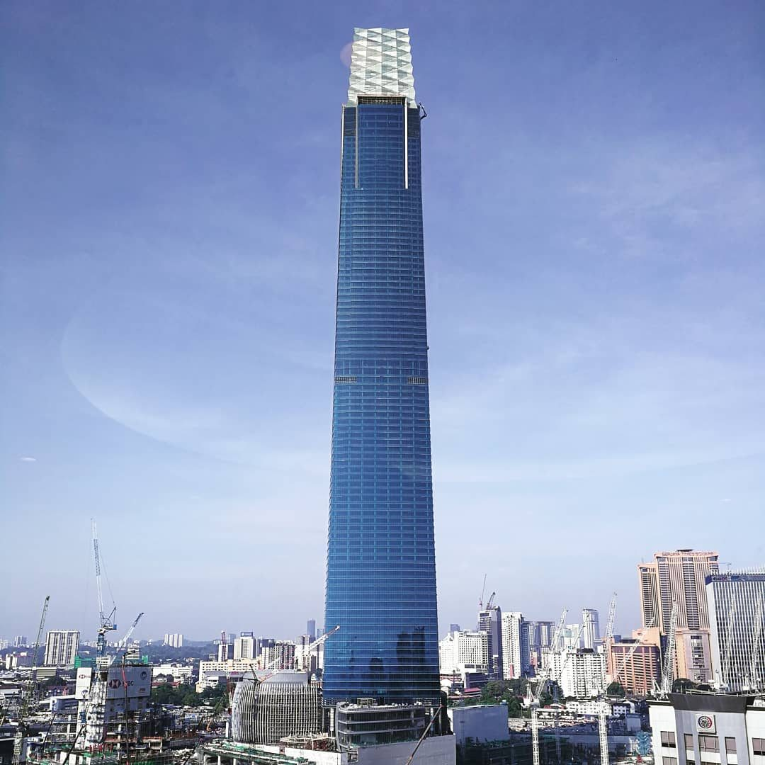Southeast Asia's tallest tower Exchange 106 opens for