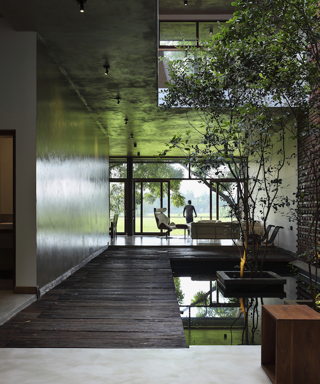 Damith Premathilake Architects Designs Tropical Modernist House In Colombo Overlooking Paddy Fields De51gn