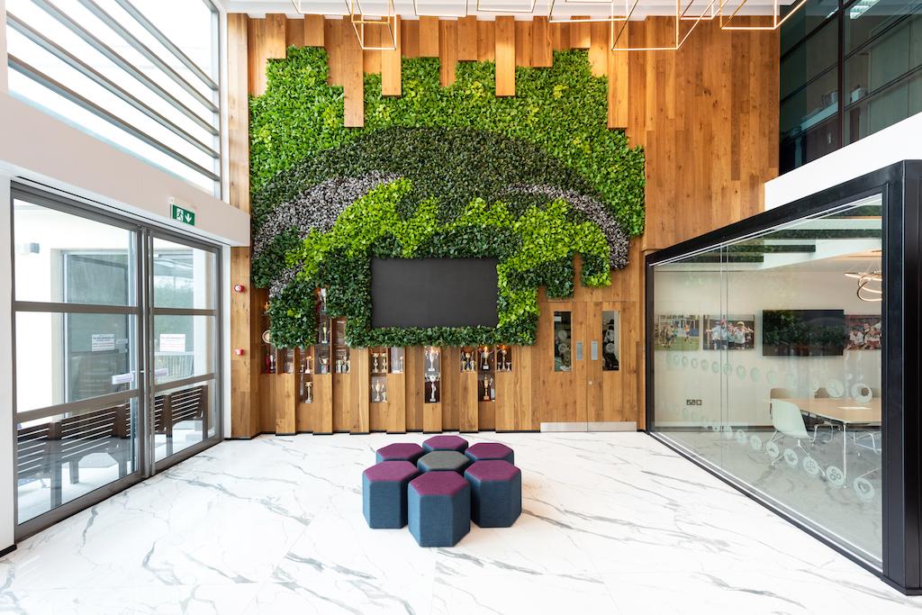 DZ Design creates space-efficient reception lounge in Dubai school with  biophilic elements - De51gn