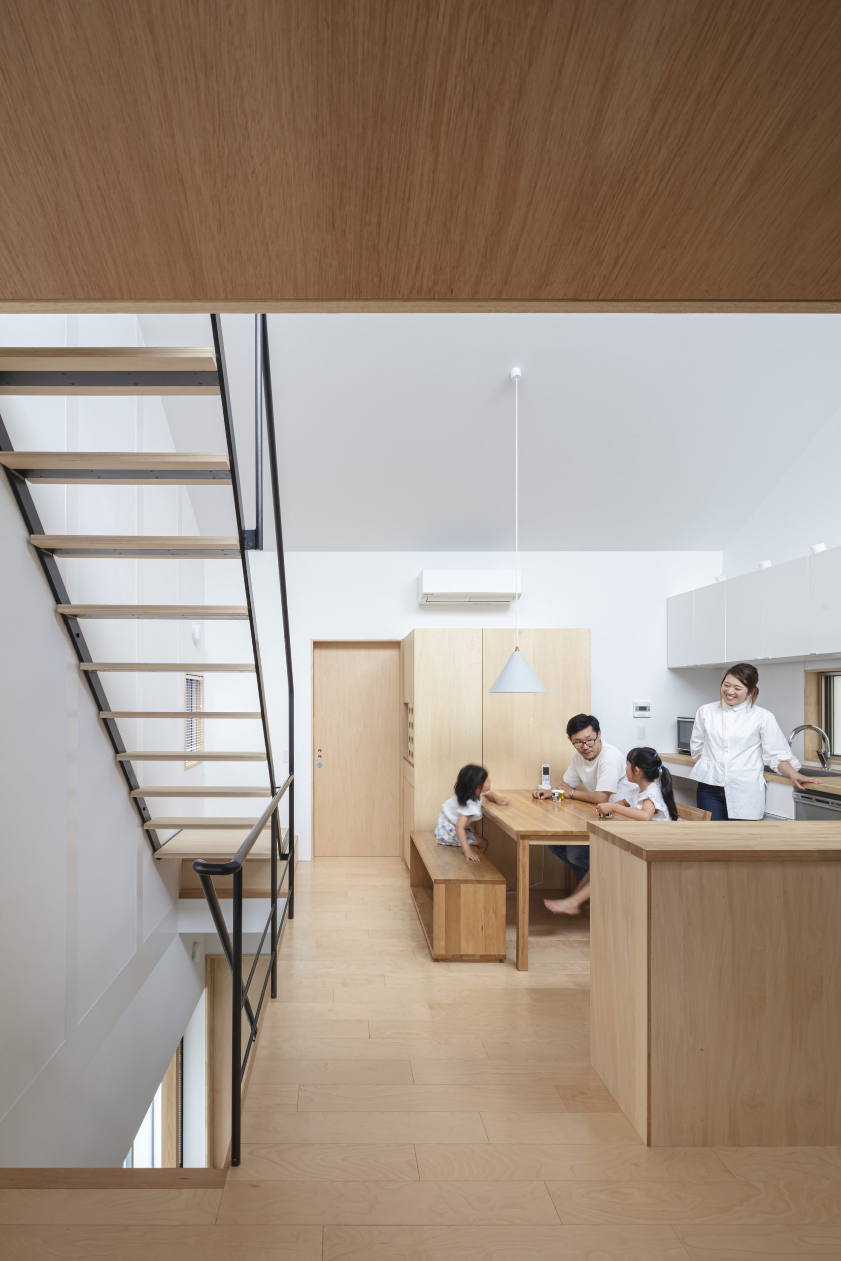 Hisashi Ikeda Designs Compact Japanese House As A Sum Of Small Parts That References Traditional Machiya Style De51gn